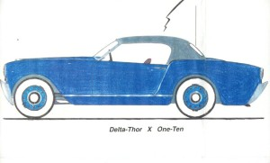 Tyndall's design drawing