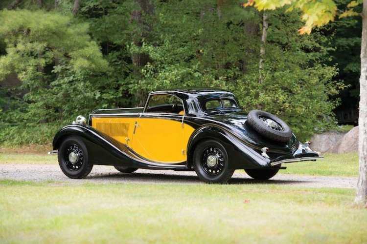 1934 Lancia Belna Eclipse by Pourtout (photo: Darin Schnabel)