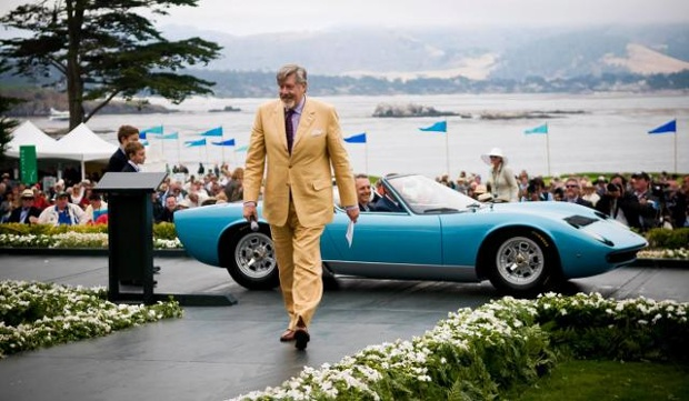 Edward Herrmann had a passion for American classic automobiles and served as Master of Ceremonies for the Pebble Beach Concours d'Elegance.