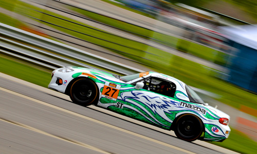 Dwyer and Long won the CTSCC Street Tuner race at Lime Rock in 2014