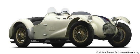 1950 Perry Fina-prepared Allard J2 at the Simeone Museum