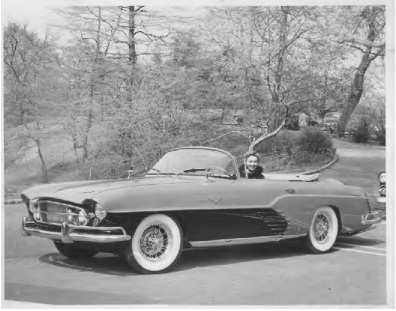 1955 Fina Sport Convertible with Continental Kit and Borrani Knock-off Wheels