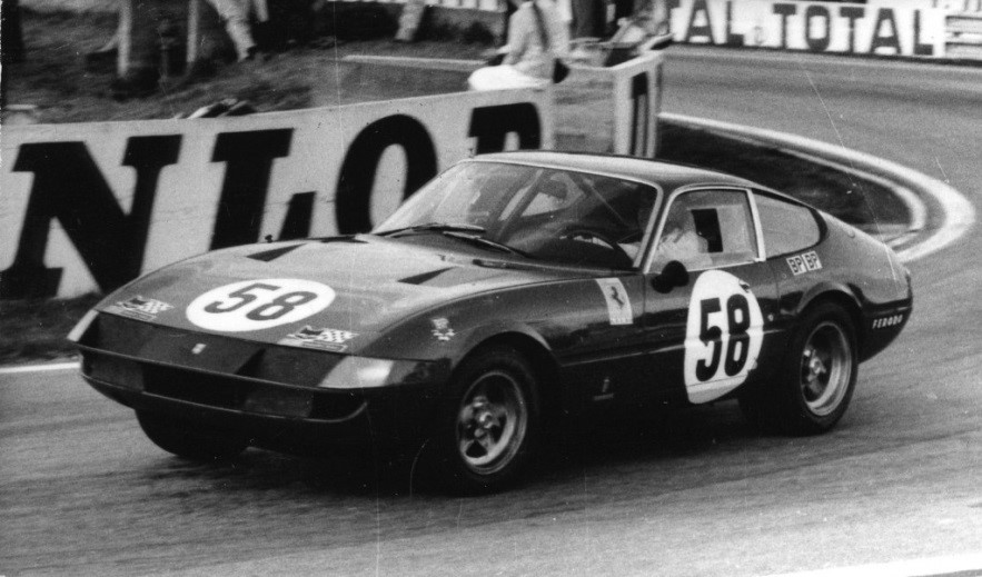 The 1971 Ferrari N.A.R.T. Daytona racing at LeMans (Photo 24h-lemans.com)