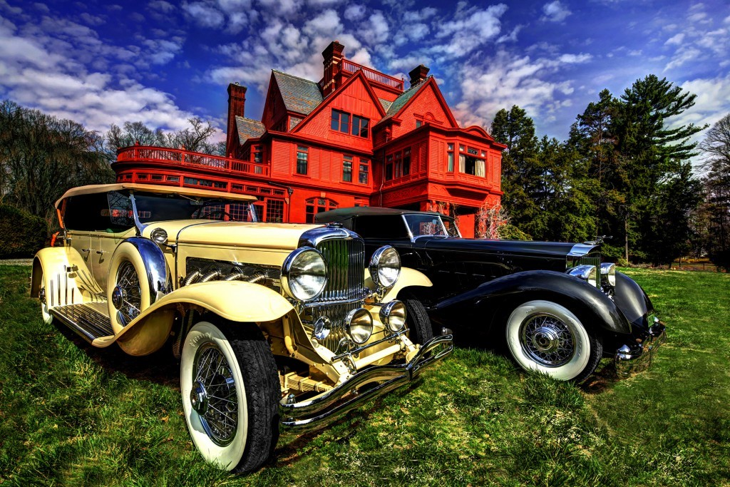 Thomas Edison's Glenmont home in New Jersey will be site of new concours October 16-18 Photos courtesy edisonconcours.org