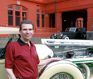 Pebble Beach-winning car collector Joseph Cassini is organizing a new concours at the historic home of Thomas Edison in Llewellyn Park, NJ