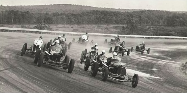 Opening day at Thompson Speedway May 26, 1940