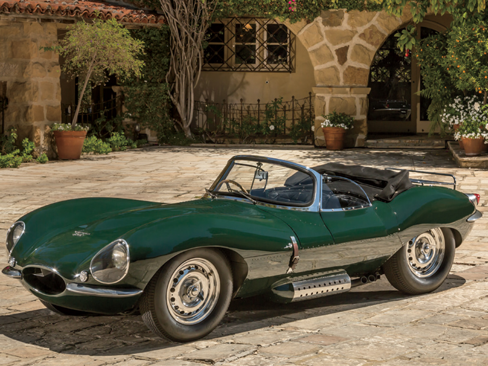 "The Petersen's collection is home to Steve McQueen's rare 1956 Jaguar XKSS, which Jay Leno calls ""one of the great cars of all time, one of those cars that are works of art."""
