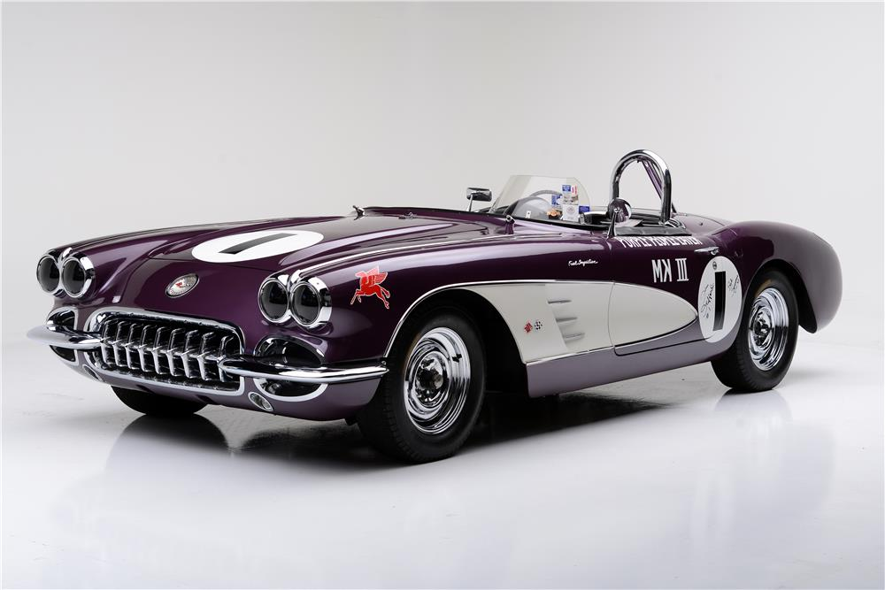 "Legendary 1959 Corvette ""Purple People Eater"""