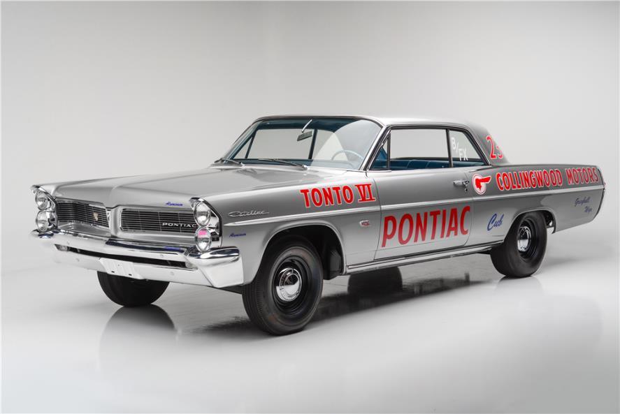Vintage pontiac racing catilina