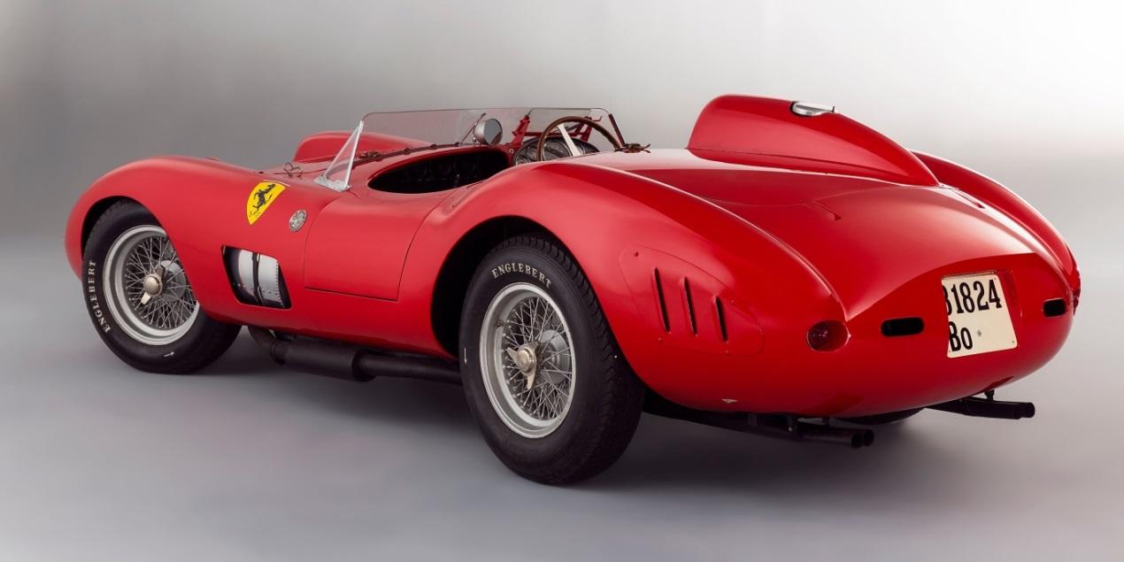 The 1957 Ferrari 335 S Spider Scaglietti, estimated sale price: $30-34 million  Photo: Christian Martin/Artcurial