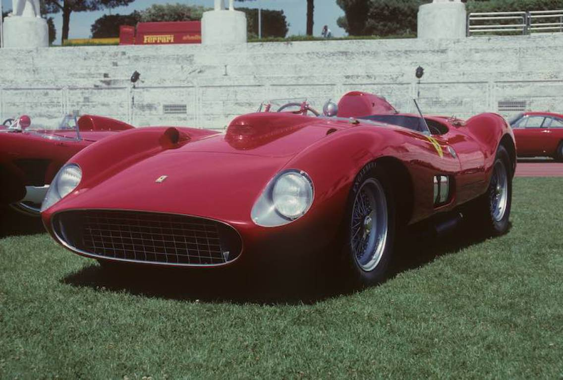 1957 Ferrari 335 S Spider Scaglietti Photo: Sports Car Digest