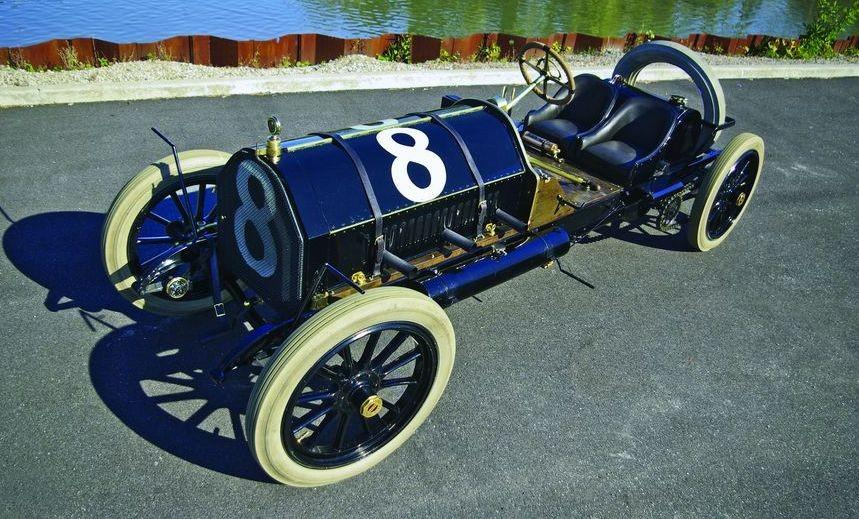 "1909 Alco ""Black Beast"" two-time winner of the Vanderbilt Cup Photo: Hemmings"