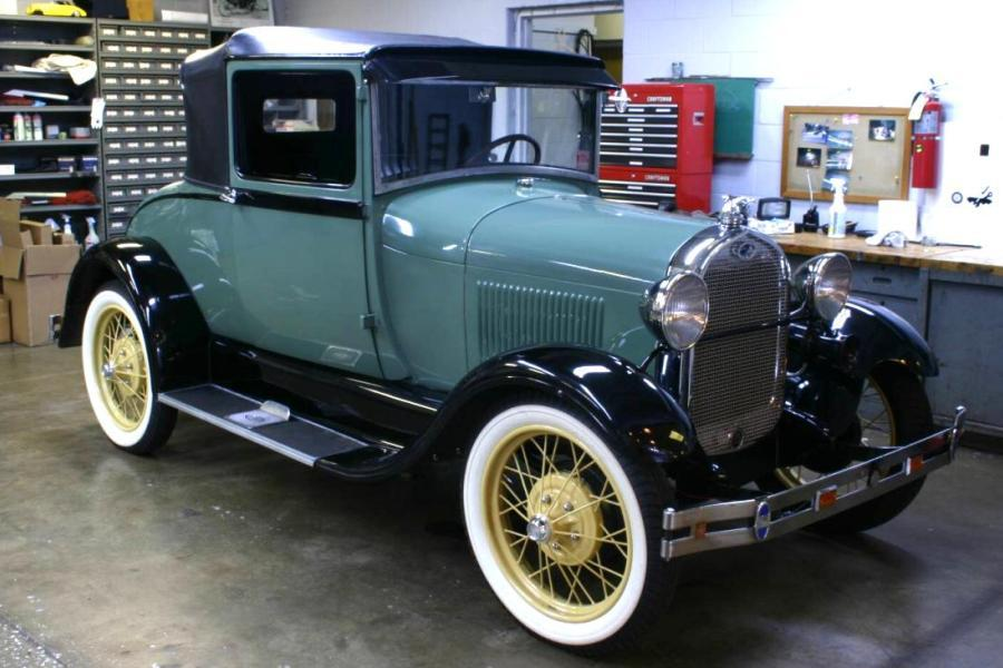 1928 Model A Ford, almost 5 million built up to 1931(Photo: Wikipedia)