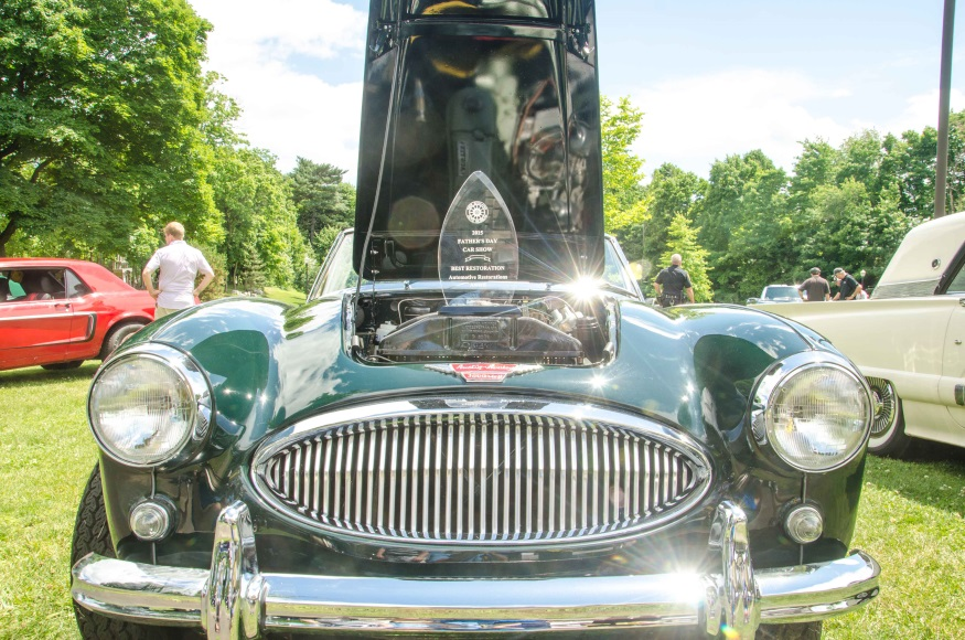 2015 Best in Show winner '64 Austin-Healey 3000 MkII owned by Ryan Ledwith (Photo New England Auto Museum)
