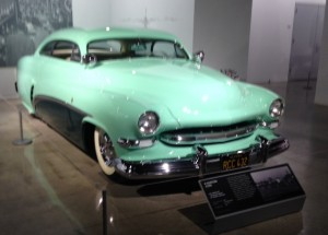 "1951 Mercury ""Hirohata"" coupe by Barris Kustoms, part of the Customization exhibit in the Enthusiast Network Gallery"