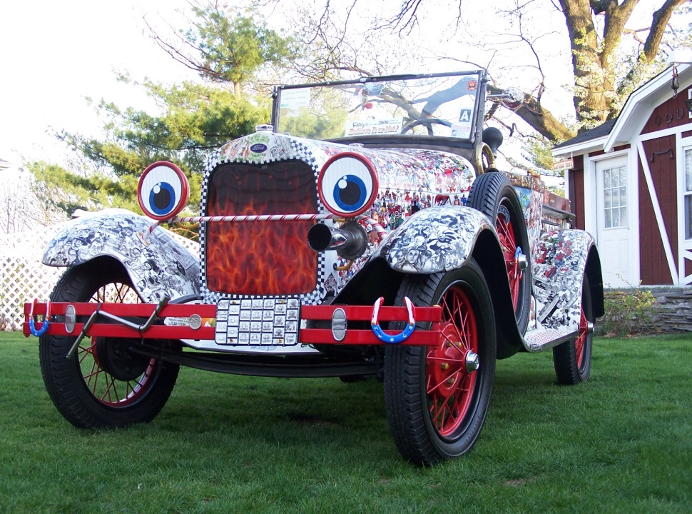 "Robert Luczum's 1928 Ford Model AR ""Car-toon"" Truck   (Photo Robert Luczun)"