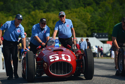 The Revs Institute is the caretaker of this Lancia D50 Recreation
