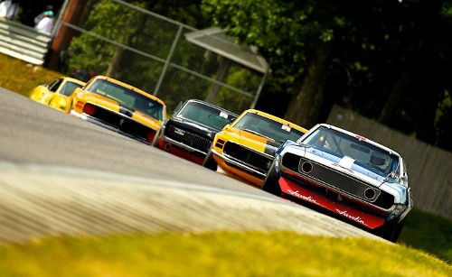 Extremely popular race group at Historic Festival 34 was that of the authentic Trans-Am cars.  Photo Casey Keil