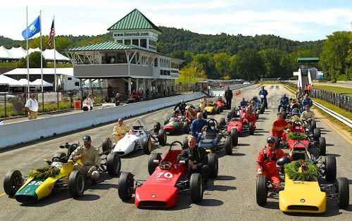 A terrific collection of Formula Fords provided excellent open-wheel action. Photo Casey Keil