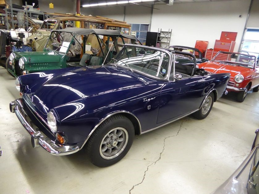 Because of the Carroll Shelby connection, Sunbeam Tigers are now $50,000 and up