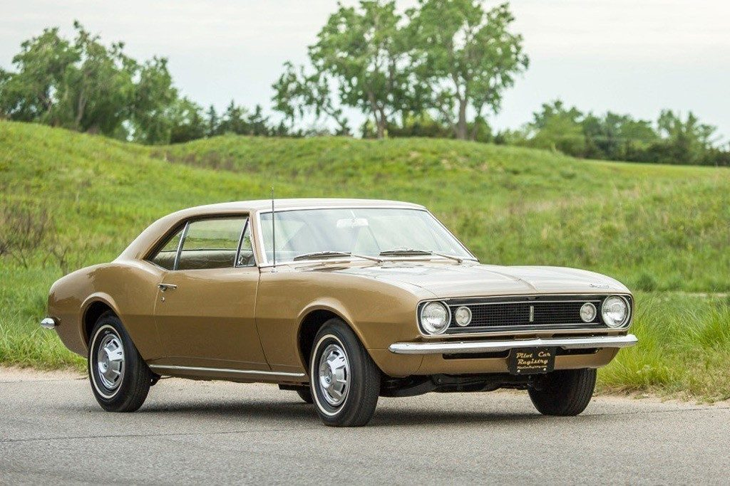 Camaro # 001, the first of 49 hand built prototypes assembled in Norwood, Ohio in 1966 (Photo Chevrolet Division)