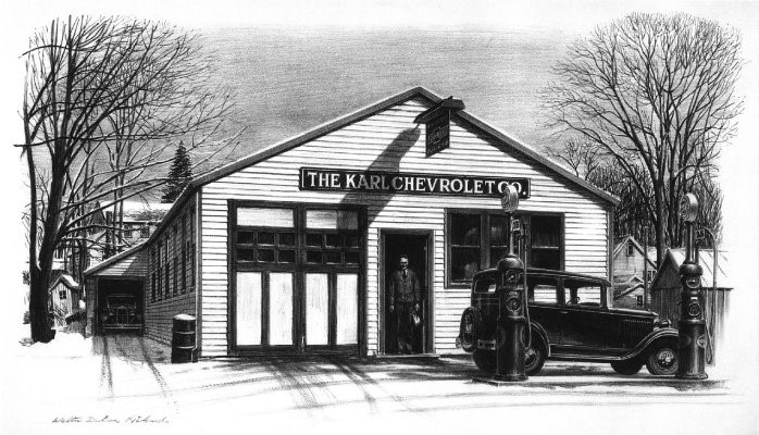 Karl Chevrolet was founded in 1927 by Leo and Emil Karl, two of seven brothers (Photo courtesy of the Karl family)