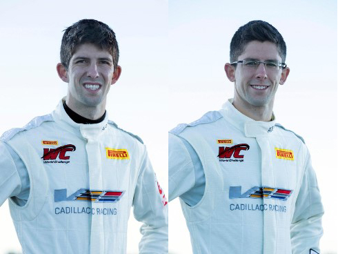 Ricky (l.) & Jordan Taylor are SprintX-ing with the Cadillac PWC team on Memorial Day weekend