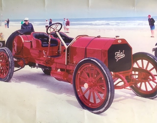 1907 Fiat 60HP Targa Florio Corsa owned by Manny and George Dragone of Bridgeport, Connecticut