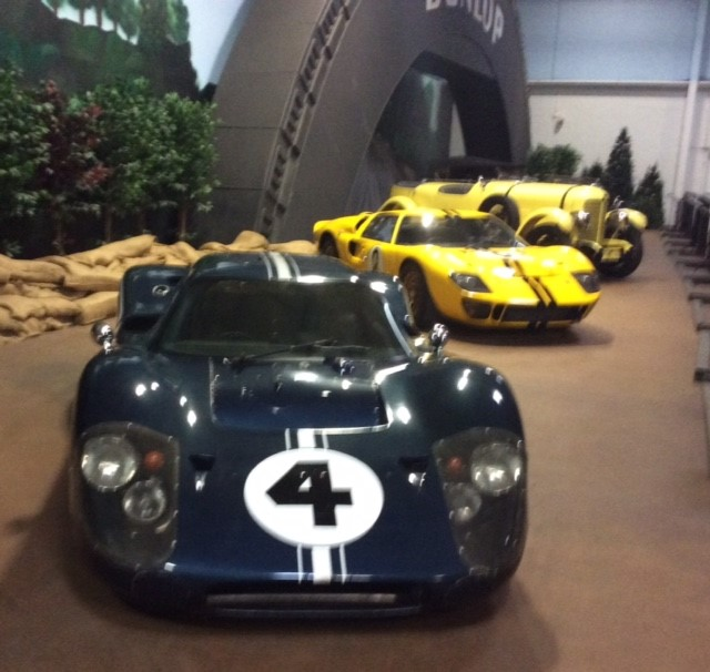 America at Le Mans – 1967 Ford GT-40 Mk IV, 1966 Ford GT-40 Mk II and 1929 DuPont Le Mans Speedster