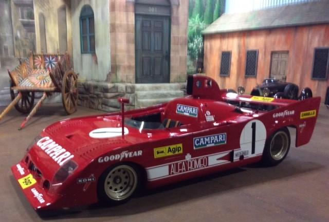 Targa Florio – 1975 Alfa Romeo 33TT-12 and 1926 Bugatti Type 35