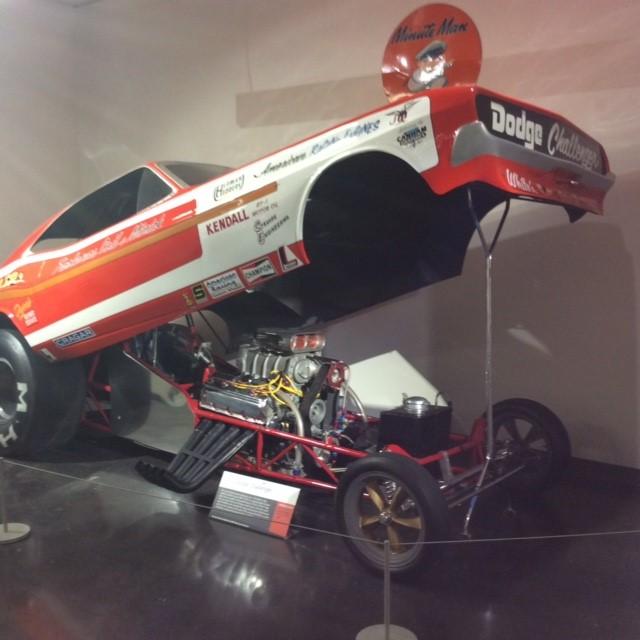 "Race Cars: 1972 Dodge Challenger Chi Town Hustler ""Funny Car"""