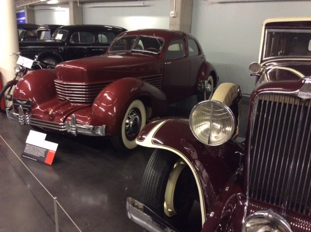 Lucky's Garage: 1927 Auburn and 1937 Cord part of tribute to Harold LeMay's collection