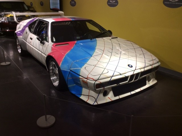 Hall of Fame: 1979 BMW M1 Frank Stella Art Car