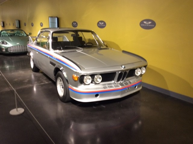 "Hall of Fame: 1974 BMW 3.0 CSL ""Batmobile"" followed by 2003 Aston Martin DB AR1 Zagoto"
