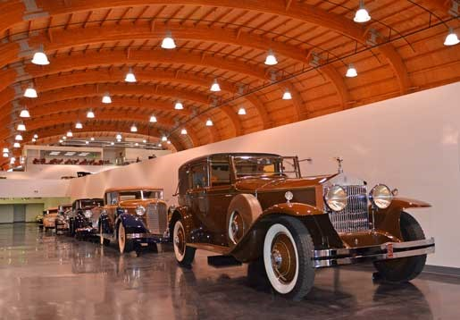 Classic Car Coachworks Exhibit Photo - The LeMay Car Museum