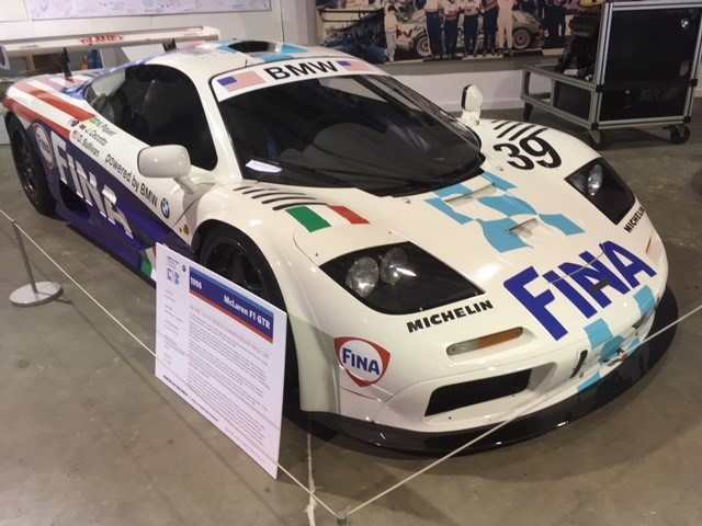 1996 McLaren F1 GTR finished in 8th place at LeMans 24 Hour driven by Nelson Piquet, Danny Sullivan and Johnny Cecotto