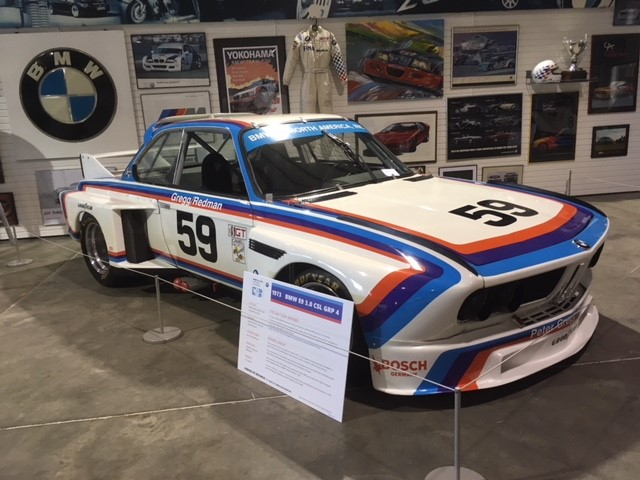 1973 E9 3.0 CSL, winner of the 1976 Daytona 24 Hour race with drivers Peter Gregg, Brian Redman & John Fitzpatrick