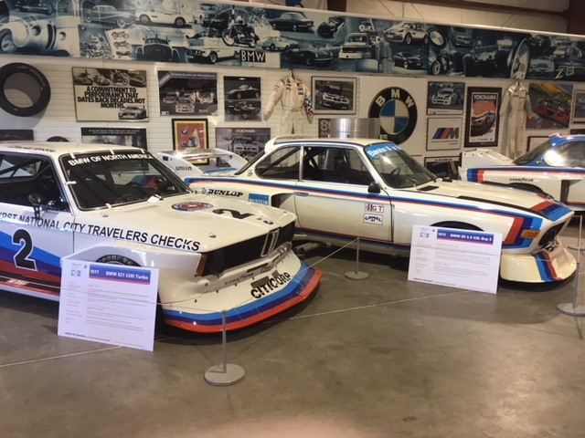 1975 E9 3.5 CSL Grp 5 and 1977 E21 320i Turbo