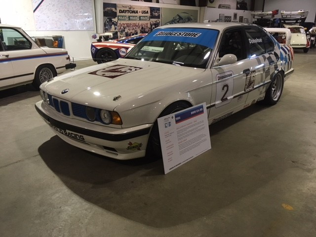 1994 E34 M5 IMSA Supercar Champion with driver David Donahue
