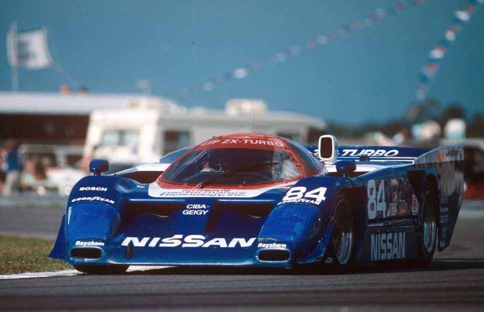 The Nissan GTP ZX-Turbo