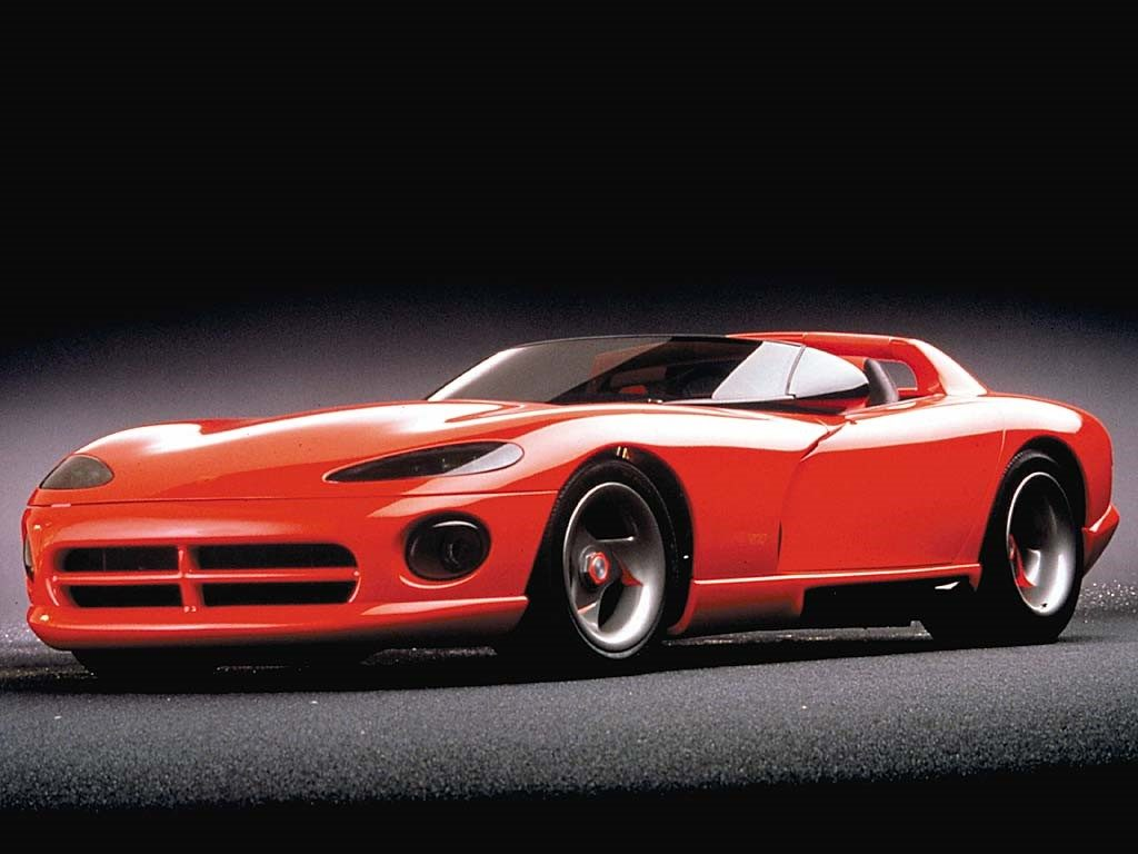 Dodge Viper prototype introduced at the 1989 Detroit Auto Show(Photo FCA)