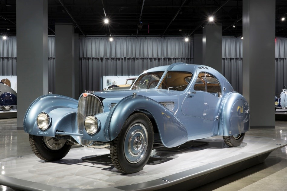 "1936 Bugatti Type 57S Atlantic famous as ""World's Most Expensive Car"""