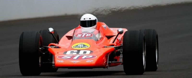 1968 Lotus 56 Indy Turbine- Photo courtesy of the Bruce Linsmeyer Collection
