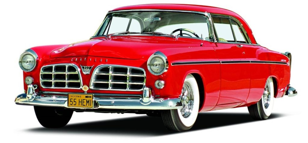 1955 Chrysler C-300, considered America's first muscle car, dominated NASCAR racing in its day. (Archive Photo)