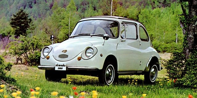 The 360, first Subaru imported to the U.S. in 1968 (Photo Alden Jewell Flickr)