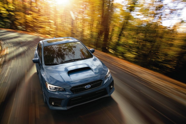 50th Anniversary edition of the Subaru WRX (Photo Subaru)