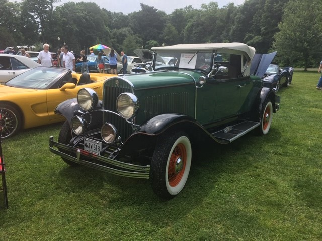Malcom Pray Award, '28 Chrysler Conv., Tom Boyian