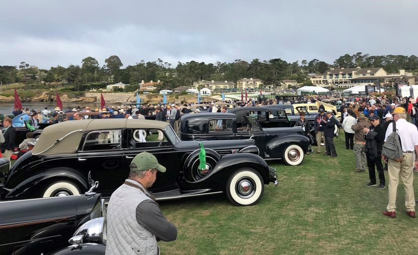 Pebble Beach Concours d'Elegance, 2019. Photo by Matt Litwin.