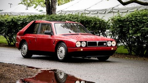 Lancia will be among the featured classes at the 2021 concours. Autoweek photo